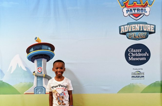 Paw Patrol exhibit at Glazer Children's Museum