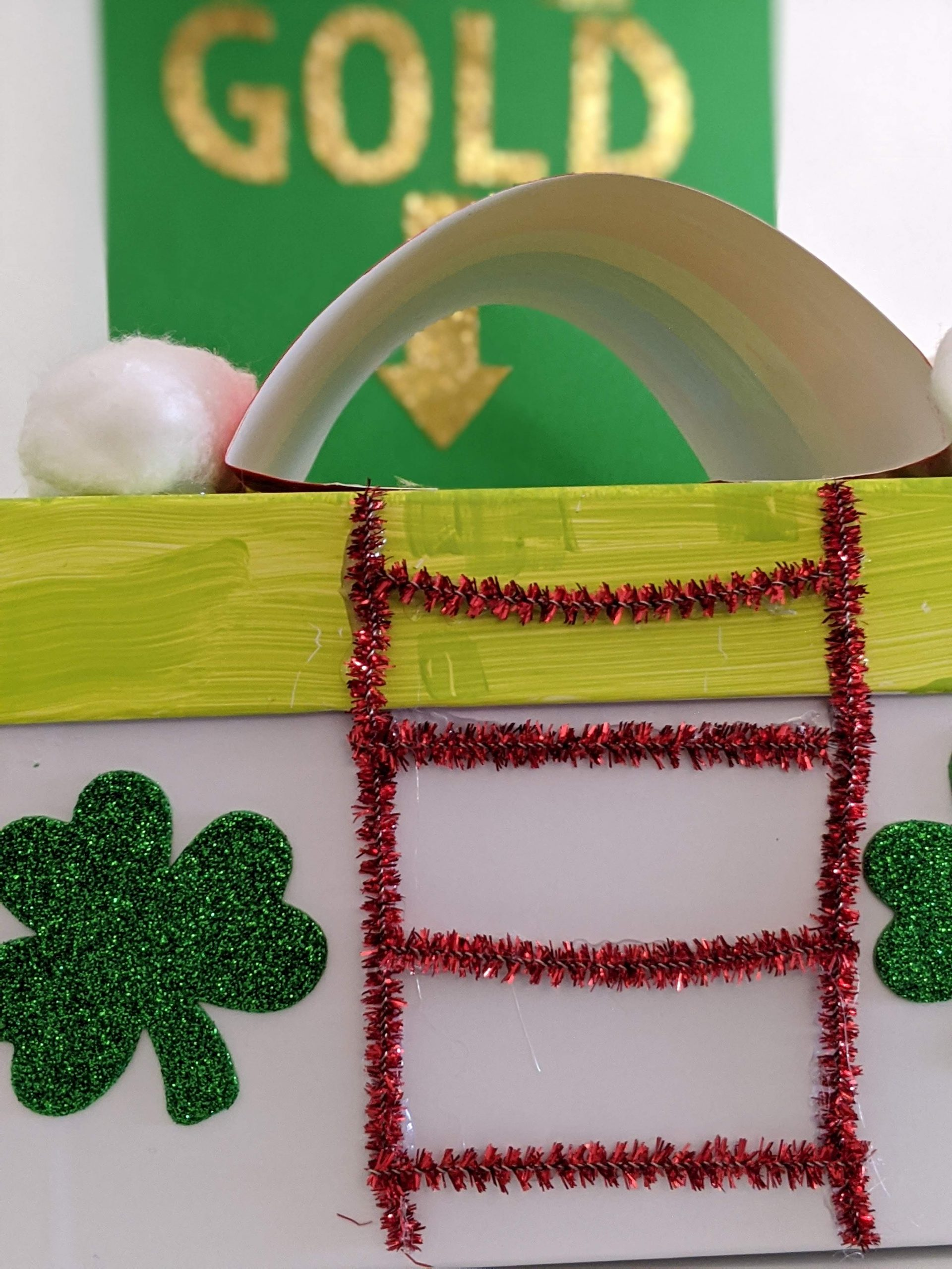 St. Patrick's Day leprechaun trap for kids