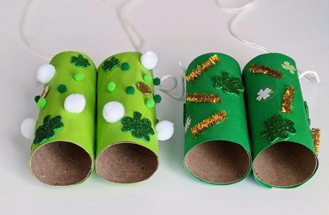 St. Patrick's Day leprechaun binoculars for kids
