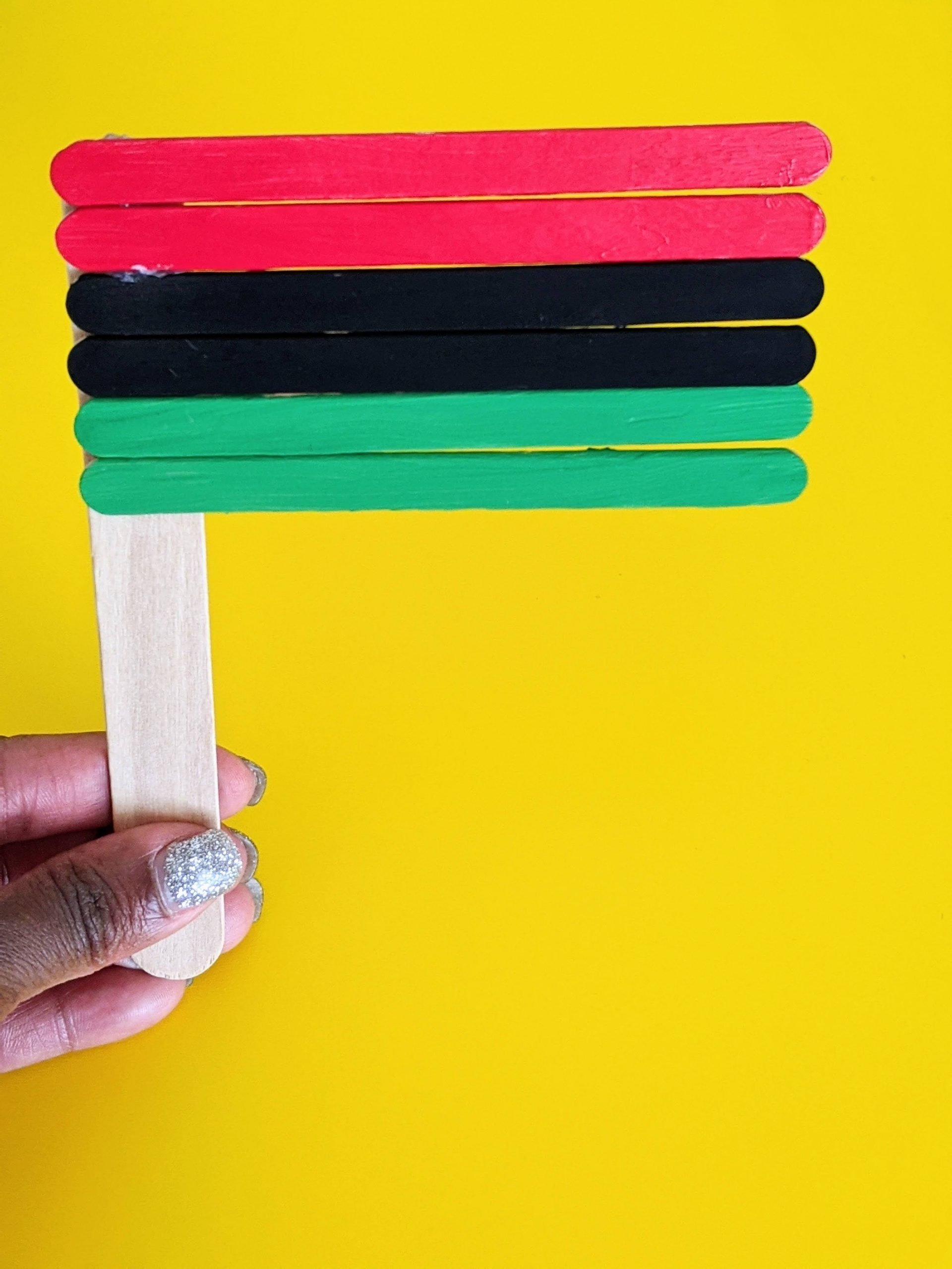 Pan-African flag craft