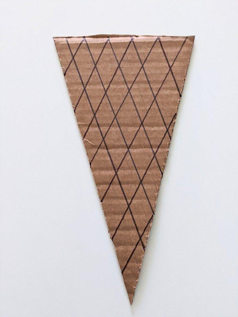 cone for ice cream craft