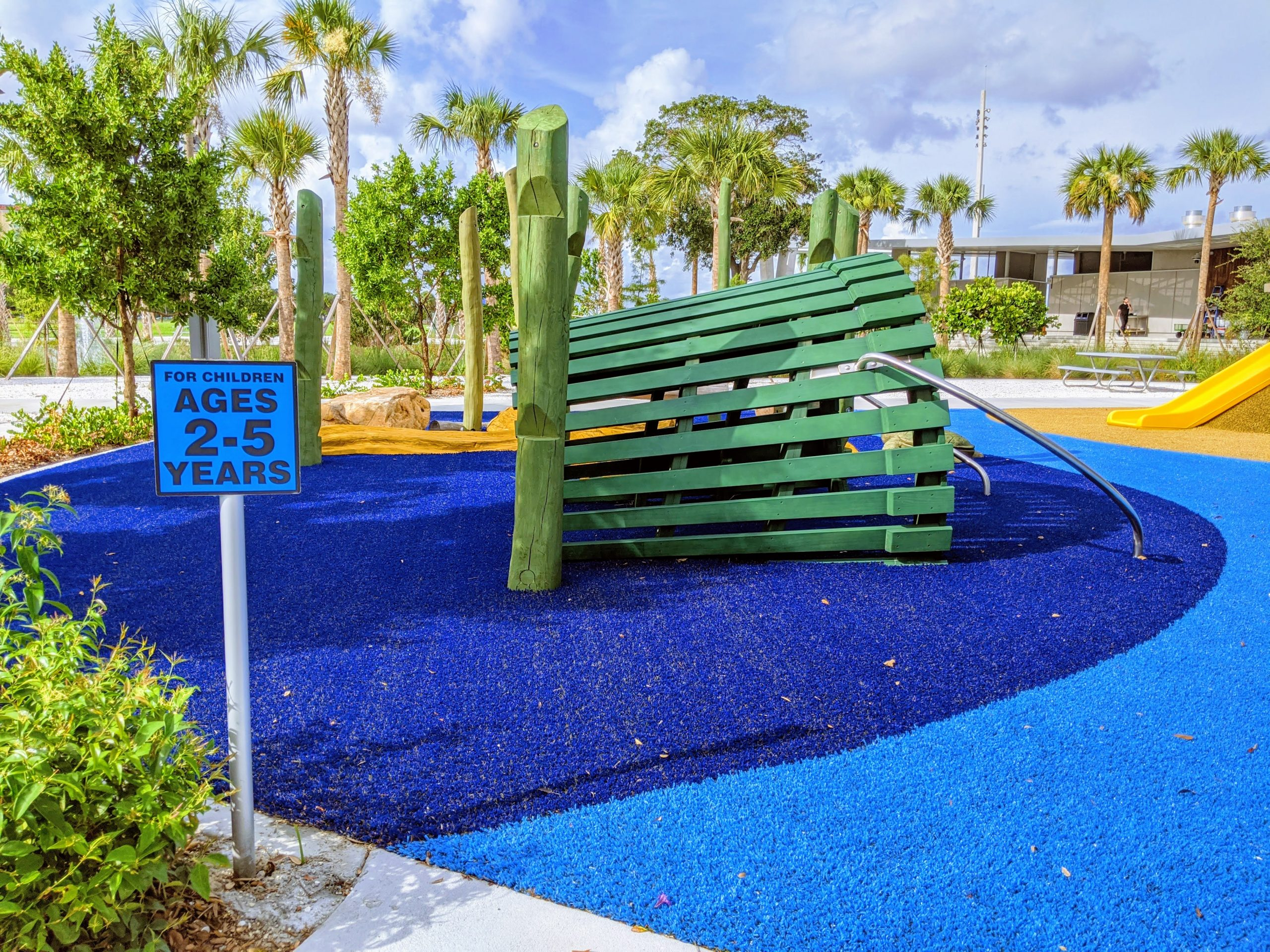 playground for kids at the St. Pete Pier