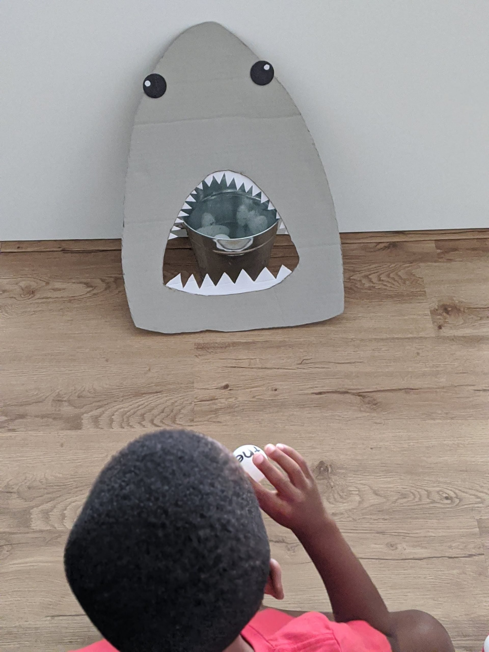 Shark Week sight words activity for kids