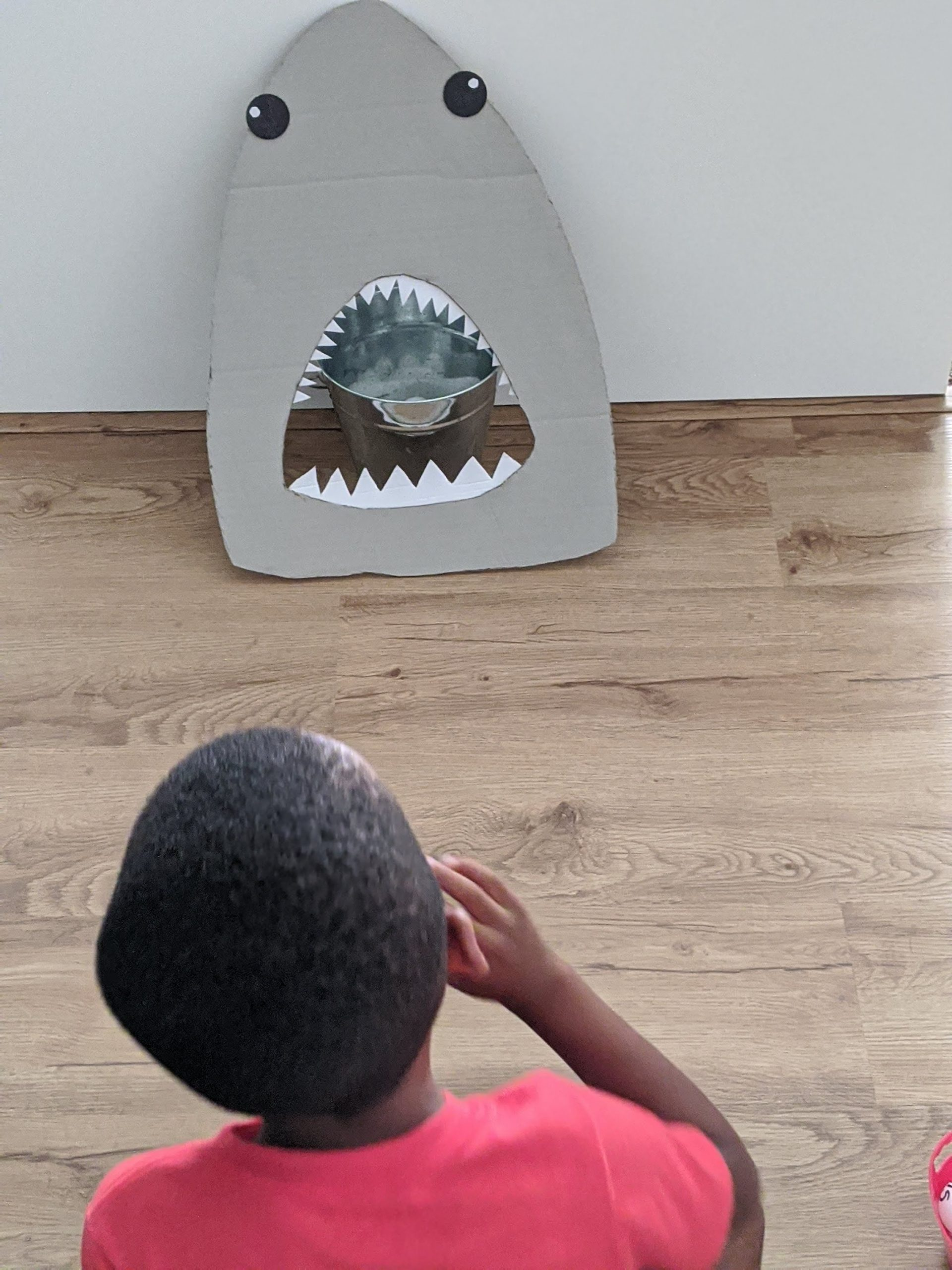 Feed the shark activity for kids