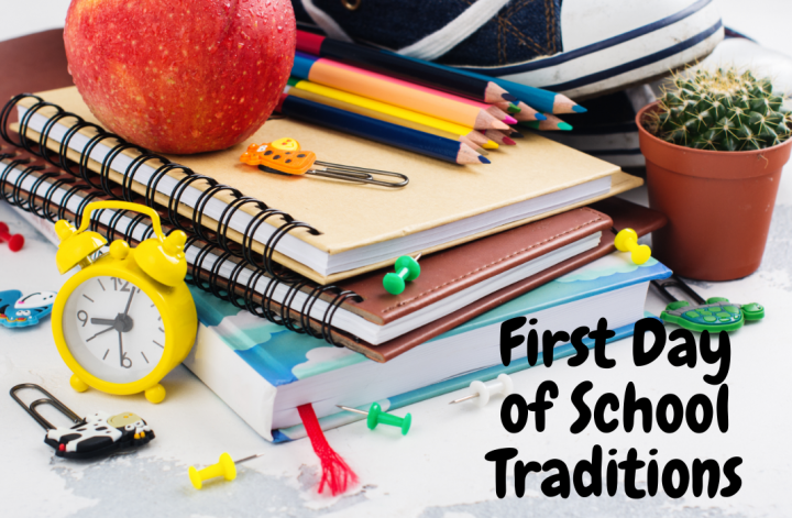 celebrate first day of school