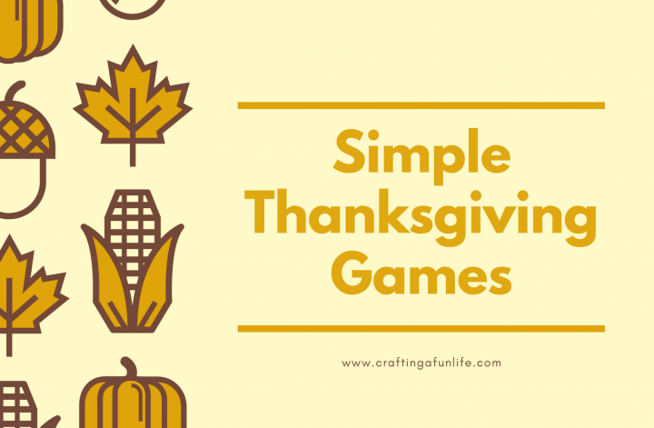 simple Thanksgiving games for the family