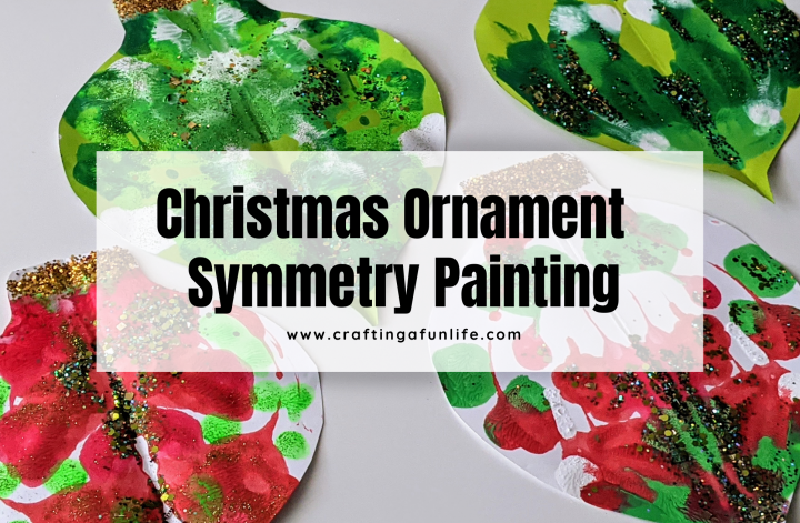 Christmas ornament symmetry painting