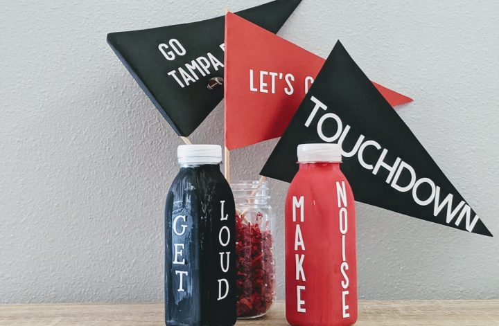 DIY crafts for football celebration