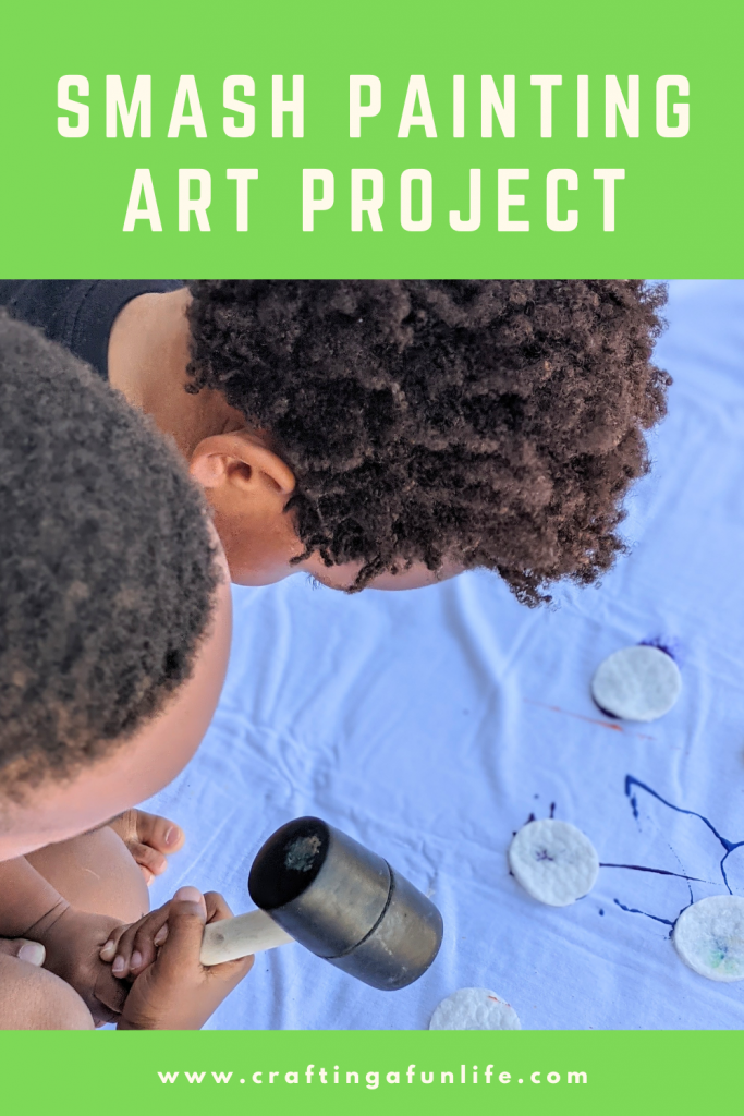 smash painting activity for kids of all ages